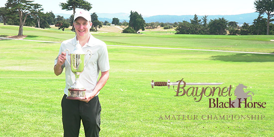 SCU's Matt McCarty Hoists the BBH Amateur Trophy
