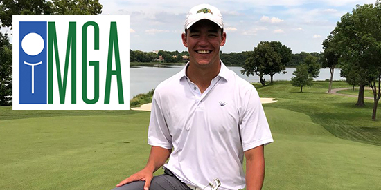 Van Holgren Following His 2018 MN Am Victory (MGA Photo)