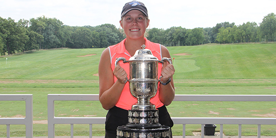 Sierra Hargens (Iowa Golf Association photo)