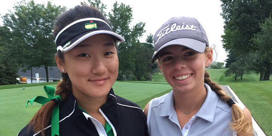 Janice Kim and Macy Hanus (WWGA photo)