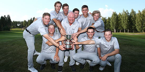 The victorious Continent of Europe team (R&A photo)