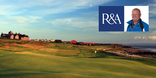 Trevor Foster will always remember round 1 at Royal Porthcawl (R&A photo)
