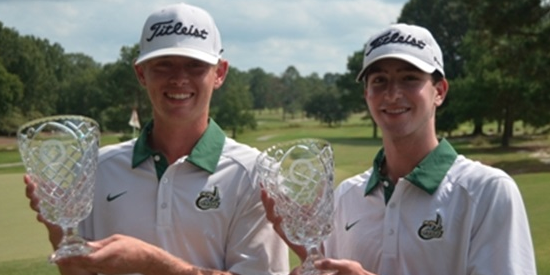 Carson Ownbey and Ben Woodruff <br>(CGA Photo)
