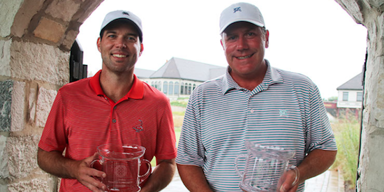 Michael Natale and Steve Sawtell won their second title in three years <br>(CDGA Photo)