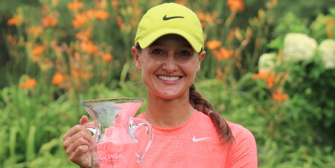 Minnesota Women's State Open winner Olivia Herrick <br>(Minnesota PGA Photo)