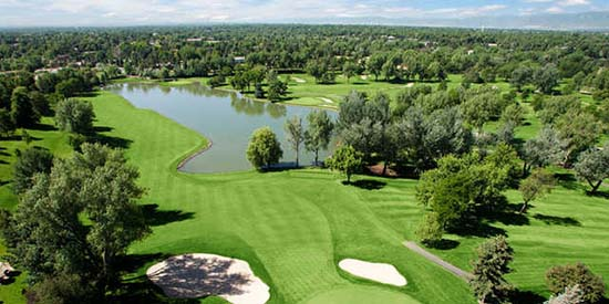 Cherry Hills GC, where Don Cherry made his best U.S. Open run (Golf Colorado photo)