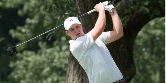 Jack Hall fired a 5-under 67 in the second round <br>(MGA Photo)
