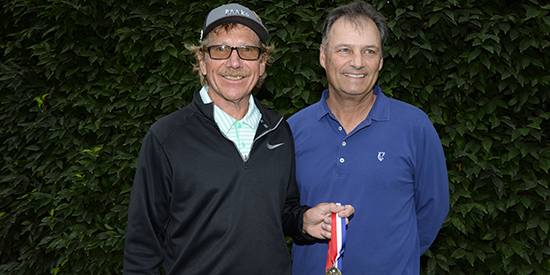 Greg Condon (left) and Jeff Wilson (USGA photo)