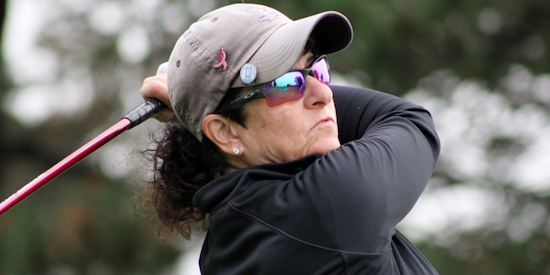Shelly Weiss had hip replacement in December <br>(GAM Photo)