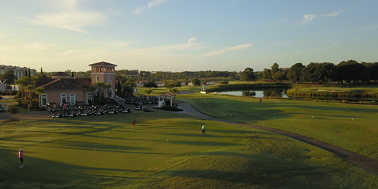 The start of the final day of the Myrtle Beach World Am (Myrtle Beach Golf photo)