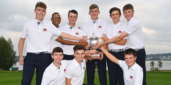 The winning GB&I team (R & A photo)