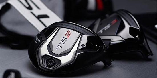 More speed: the Titleist TS2 and TS3 fairway woods