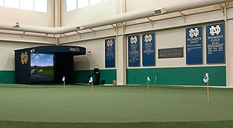 The Rolfs Family Golf Facility at Notre Dame
