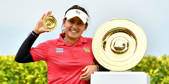 Atthaya Thitikul is already eligible for the Augusta National Women's Am (WAPA photo)