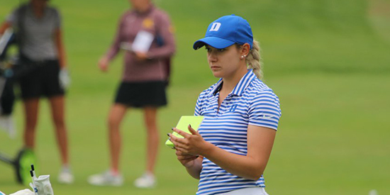 Duke's Ana Belac (Annika Foundation/Twitter photo)