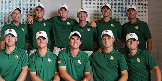 Baylor's men (Baylor Athletics photo)