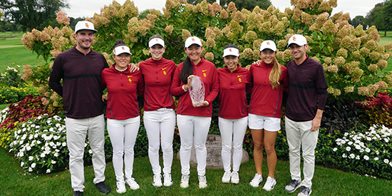 USC's women (USC Athletics photo)
