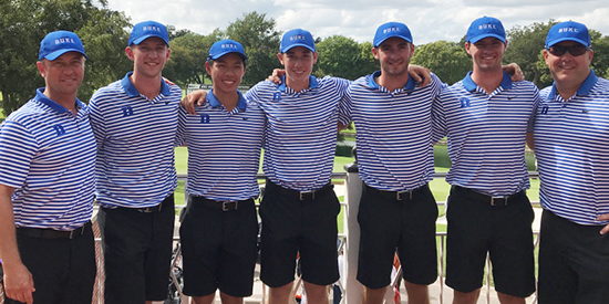 Duke men's golf (Duke Athletics photo)