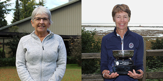 Jackie Little and Holly Horwood won PNGA senior titles (PNGA photo)