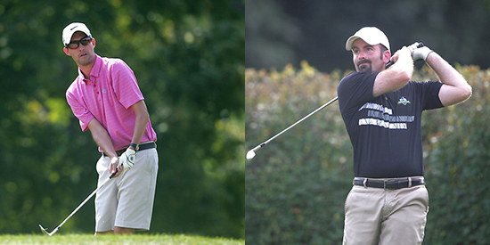 Trent Peterson (left) and Justin Burleson (MGA photo)