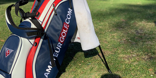 AmateurGolf.com partners with Vessel for custom carry bag