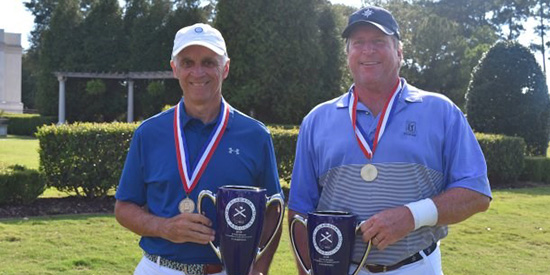 Joey Holley and Stan Sherlin (Alabama Golf Association photo)
