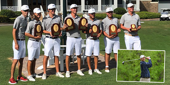 North Florida men's golf (UNF Athletics photo)