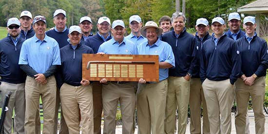 The winning Carolinas team (CGA/Facebook photo)