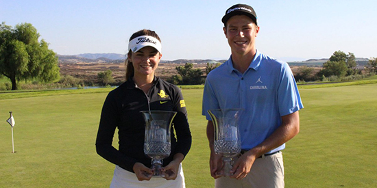 Briana Chacon and Ryan Smith (SCGA/Twitter photo)