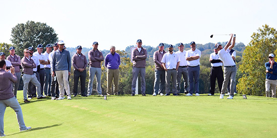PGA professionals at the Tennessee Challenge Cup (TGA/Twitter photo)