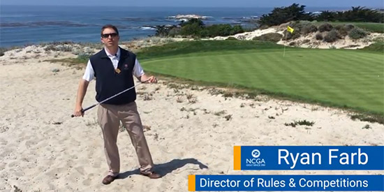 Ryan Farb has been in Pebble Beach for 11 years (YouTube screen shot)