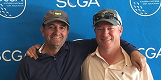 Tim Hogarth and Corby Segal (SCGA photo)