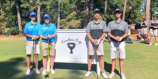 On the tee at the Carolina Cup (AJGA/Twitter photo)