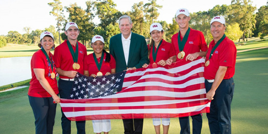 Robertson builds golf legacy through Spirit International Am