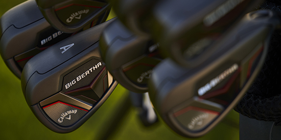 Callaway debuts upgraded Big Bertha irons, adjustable hybrid