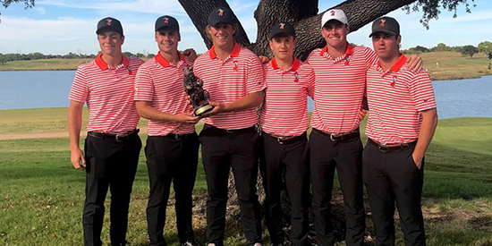 Oklahoma State after the Royal Oaks Intercollegiate (OSU Athletics photo)