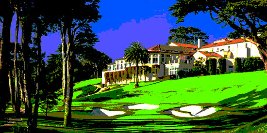 Olympic Club's Lake Course (Photo illustration)