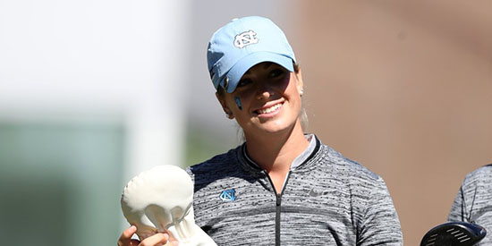 Kelly Whaley (UNC Athletics/Twitter photo)
