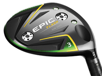 The Callaway Epic Flash Sub Zero fairway wood