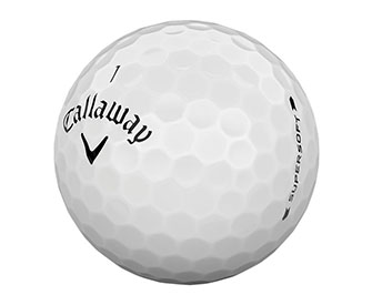The Callaway Supersoft Golf Ball
