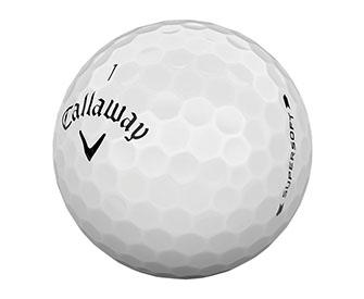 The Callaway Supersoft Golf Ball