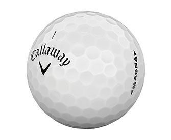 The Callaway Supersoft MAGMA Golf Ball