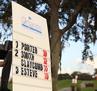 Orlando International Amateur scoreboard