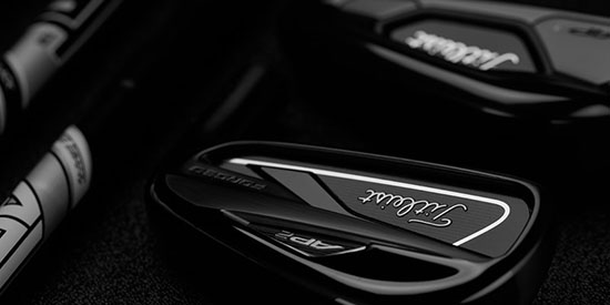 Titleist Releases 718 AP2 and AP3 Irons in All-Black Finish