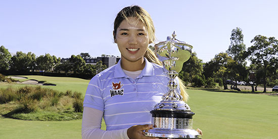 Yae Eun Hong (Golf Australia photo)