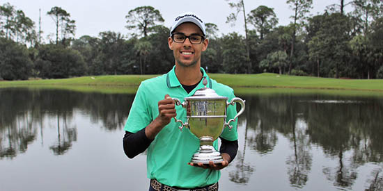 Akshay Bhatia (Caroline Norman/ Ocean Forest Golf Club)