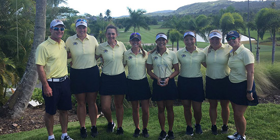 Kent State's Puerto Rico-winning squad (Photo courtesy Kent State Athletics)