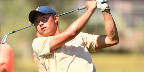 Collin Morikawa (Cal Athletics photo)