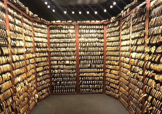Simply breathtaking: the PING Gold Putter Vault