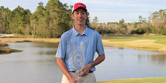 Jackson Van Paris (Photo courtesy of AJGA)